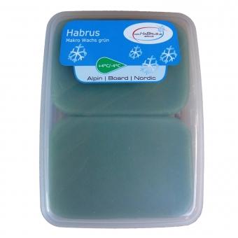 Habrus Makro Wachs grün 180 g
