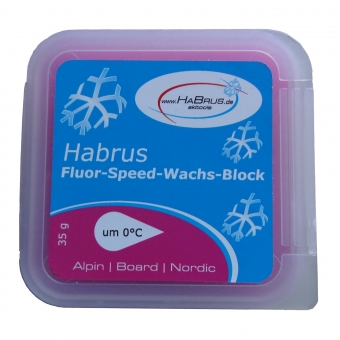 Fluor-Speed-Wachs-Block rosa 35 g