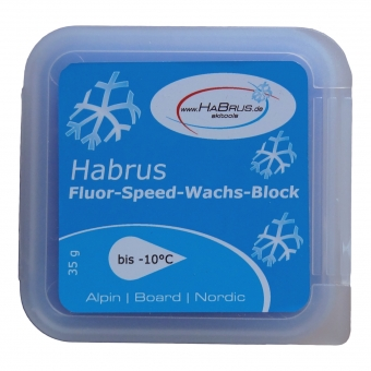 Fluor-Speed-Wachs-Block blau 35 g