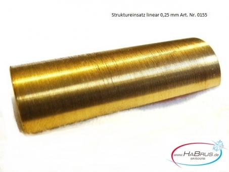 Einsatz Strukturriller 0,25 mm